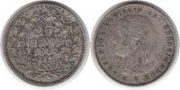 25 Cents 1895 Niederlande Wilhelmina I. 25 Cents 1895 Sehr schön  90,00 EUR
