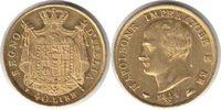 40 Lire 1814 Italien Napoleon I. 1818 M, Mailand GOLD. winz. Kratzer, v... 695,00 EUR  zzgl. 4,00 EUR Versand