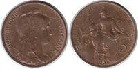 5 Centimes 1909 Frankreich Dritte Republik 5 Centimes 1909 fast Stempel... 65,00 EUR  zzgl. 4,00 EUR Versand