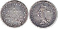 Franc 1911 Frankreich Dritte Republik Franc 1911 vorzüglich +  25,00 EUR  zzgl. 4,00 EUR Versand