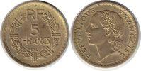 5 Francs 1945 Frankreich Vierte Republik 5 Francs 1945 C vorzüglich  35,00 EUR  zzgl. 4,00 EUR Versand