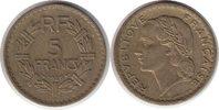 5 Francs 1946 Frankreich Vierte Republik 5 Francs 1946 C sehr schön - v... 25,00 EUR  zzgl. 4,00 EUR Versand