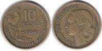 10 Francs 1954 Frankreich Vierte Republik 10 Francs 1954 sehr schön  25,00 EUR  zzgl. 4,00 EUR Versand