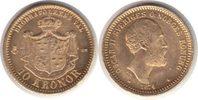 10 Kronor 1874 Schweden Oskar II. Gold 10 Kronor 1874 GOLD. fast Stempe... 240,00 EUR  zzgl. 4,00 EUR Versand
