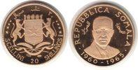 20 Shillings 1965 Somalia Republik Gold 20 Shillings 1965 GOLD. Poliert... 195,00 EUR  zzgl. 4,00 EUR Versand