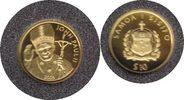 10 Dollars 2005 Samoa Gold 10 Dollars 2005 Johannes Paul II. GOLD. Poli... 55,00 EUR  zzgl. 4,00 EUR Versand