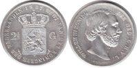 2 1/2 Gulden 1857 Niederlande Wilhelm III. 2 1/2 Gulden 1857 sehr schön... 75,00 EUR