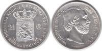 2 1/2 Gulden 1857 Niederlande Wilhelm III. 2 1/2 Gulden 1857 Kratzer & ... 80,00 EUR