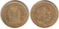 4 Gulden = 10 Francs 1880 Haus Habsburg Franz Joseph I. Gold 4 Gulden =... 775,00 EUR  zzgl. 4,00 EUR Versand