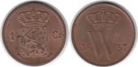 Cent 1837 Niederlande Wilhelm I. 1815-1840 Prachtexemplar. Fast Stempel... 155,00 EUR  zzgl. 4,00 EUR Versand
