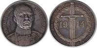 Silbermedaille 1914 Erster Weltkrieg Auf Erich Ludendorff kl. Randfehle... 65,00 EUR  +  5,00 EUR shipping