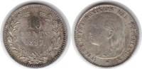 10 Cents 1897 Niederlande Wilhelmina I. 1890-1948 Fleck. Vorzüglich  35,00 EUR