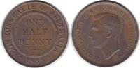 1/2 Penny 1938 Australien George VI. 1936-1952 vorzüglich - Stempelglanz  55,00 EUR