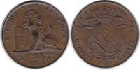 5 Centimes 1856 Belgien Leopold I. 1830-1865 vorzüglich +  55,00 EUR