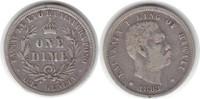 10 Cents 1883 Hawaii  sehr schön  95,00 EUR