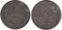 2 Markkaa 1872 S Finnland Alexander II. von Russland 1855-1881 sehr sch... 35,00 EUR
