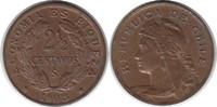 2 1/2 Centavos 1908 Chile Republik fast Stempelglanz  50,00 EUR
