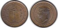 Cent 1870 Sri Lanka (Ceylon) Victoria 1837-1901 fast Stempelglanz  35,00 EUR