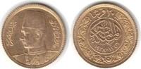 20 Piaster 1938 Ägypten  Gold. vorzüglich - Stempelglanz  140,00 EUR