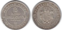 2 Neugroschen 1863 Sachsen-Albertinische Linie Johann 1854-1873  B kl. ... 50,00 EUR  zzgl. 4,00 EUR Versand