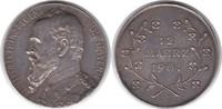 Silbermedaille 1901 Bayern Prinzregent Luitpold 1886-1913 Auf seinen 80... 70,00 EUR  zzgl. 4,00 EUR Versand