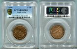 1/2 Penny 1950 Südafrika  PCGS PR 65 RB  60,00 EUR  zzgl. 4,00 EUR Versand