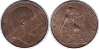 Penny 1906 Grossbritannien Edward VII. 1901-1910 fast Stempelglanz  70,00 EUR  zzgl. 4,00 EUR Versand