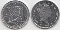1/10 Noble 1985 Großbritannien - Isle of Man Elisabeth II. seit 1952 Pl... 130,00 EUR  zzgl. 4,00 EUR Versand