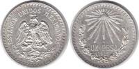 Peso 1919 Mexiko Zweite Republik seit 1867 vorzüglich  110,00 EUR  zzgl. 4,00 EUR Versand