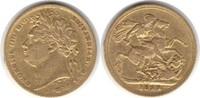 Sovereign 1822 Grossbritannien George IV. 1820-1830 Gold. winz. Randfeh... 895,00 EUR  zzgl. 4,00 EUR Versand