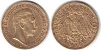 10 Mark 1905 Preussen Wilhelm II. 1888-1918 A Gold. Sehr schön - vorzüg... 185,00 EUR  plus 5,00 EUR verzending