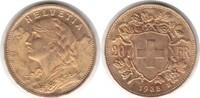 20 Franken 1935 Schweiz Eidgenossenschaft B Gold. Fast Stempelglanz  255,00 EUR  plus 5,00 EUR verzending