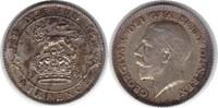 Sixpence 1924 Grossbritannien George V. 1910-1936 Schöne Patina. fast S... 65,00 EUR  zzgl. 4,00 EUR Versand