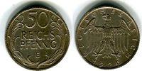 Probe 50 Pfennig 1926 E Weimarer Republik von Hörnlein. Riffelrand. Zap... 525,00 EUR  zzgl. 4,00 EUR Versand