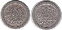 5 Cents 1907 Niederlande Wilhelmina I. 1890-1948 sehr schön  8,00 EUR  zzgl. 4,00 EUR Versand