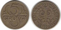 5 Groszy 1923 Polen Republik sehr schön  12,00 EUR  zzgl. 4,00 EUR Versand