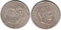 50 Centavos 1934 Kolumbien Republik seit 1887 vorzüglich +  30,00 EUR  zzgl. 4,00 EUR Versand