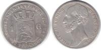 Gulden 1847 Niederlande Wilhelm II. 1840-1849 schön - sehr schön  20,00 EUR  zzgl. 4,00 EUR Versand