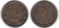 1/2 Cent 1898 Niederlande Wilhelmina I. 1890-1948 sehr schön  30,00 EUR  zzgl. 4,00 EUR Versand