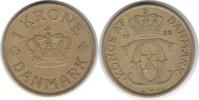 Krone 1938 Dänemark Christian X. 1912-1947 Klebereste. Sehr schön  30,00 EUR  zzgl. 4,00 EUR Versand