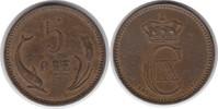 5 Öre 1902 Dänemark Christian IX. 1863-1906 Randfehler, sehr schön  25,00 EUR  zzgl. 4,00 EUR Versand