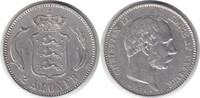 2 Kroner 1875 Dänemark Christian IX. 1863-1906 kl. Randfehler, sehr sch... 60,00 EUR  zzgl. 4,00 EUR Versand