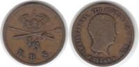 1/5 Rigsbankskilling 1842 Dänemark Christian VIII. 1839-1848 FF sehr sc... 15,00 EUR  zzgl. 4,00 EUR Versand