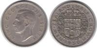 1/2 Crown 1950 Neuseeland George VI. 1936-1952 sehr schön  10,00 EUR  zzgl. 4,00 EUR Versand