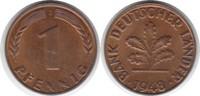 Pfennig 1948  J vorzüglich - Stempelglanz  25,00 EUR  zzgl. 4,00 EUR Versand