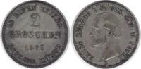 2 Groschen 1865 Sachsen-Coburg-Gotha Ernst II. 1844-1893 B kl. Kratzer,... 18,00 EUR  zzgl. 4,00 EUR Versand