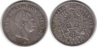 1/6 Taler 1864 Brandenburg-Preussen Wilhelm I. 1861-1888 A sehr schön  40,00 EUR  zzgl. 4,00 EUR Versand