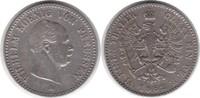1/6 Taler 1862 Brandenburg-Preussen Wilhelm I. 1861-1888 A sehr schön  38,00 EUR  zzgl. 4,00 EUR Versand