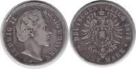 5 Mark 1875 Bayern Ludwig II. 1864-1886 D Randfehler, schön - sehr schö... 35,00 EUR  zzgl. 4,00 EUR Versand
