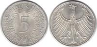 5 Mark 1951 BRD D winziger Randfehler, fast Stempelglanz  30,00 EUR  zzgl. 4,00 EUR Versand